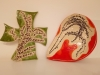 Schale und Kreuz
