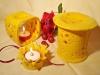 Durflampe Duplo + Teelichthalter Blüte + Duftlampe klassisch