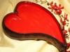 zweifarbige Schüssel Herz
